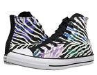 Converse Canvas Zebra Athletic Shoes for Women