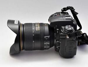 Nikon Nikkor AF-S 24-120mm f/4 G Nano VRII Zoom lens.
