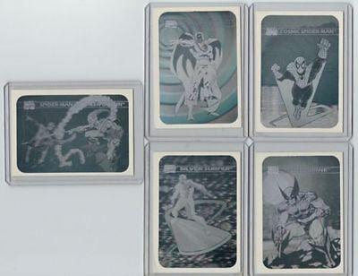 1990 MARVEL UNIVERSE SERIES 1 HOLOGRAM SET FINISH YOUR SET (PICK 1 )