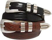 Mens Leather Belt 50