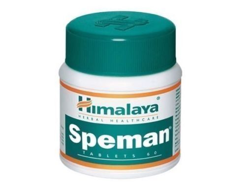 1 X Himalaya Herbals Speman Tablet - 60 Tablets US SHIPPED Expiry 2021 SE