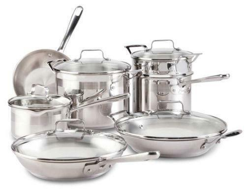 Emeril Stainless Steel Cookware Set Ebay