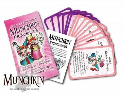 Munchkin Booster Princesses, Kartenspiel Steve Jackson Games  (english)