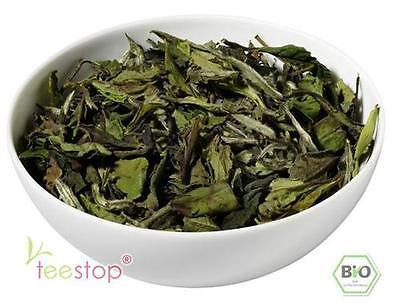 100g China Pai Mu Tan STD 6901 Bio- Weißer Tee aus kba DE-ÖKO-001