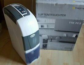 TROTEC TTK 70 S portable air dehumidifier max. 24 L/Day