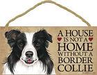 Border Collie Hunde-Schilder & -Plaketten
