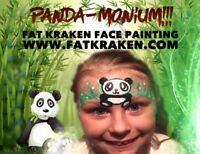 Glitter Tattoo, face painting, Balloon Animals and More!