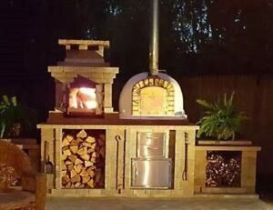 Authentic Pizza Ovens Wood Fire