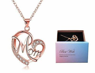 Día de la madre regalo, Deesos Collar El mejor regalo para el...