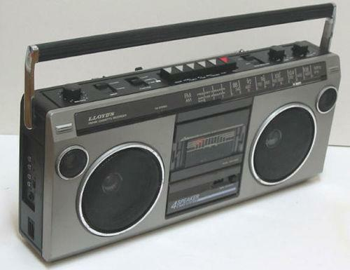 The gallery for --> Vintage Panasonic Boombox
