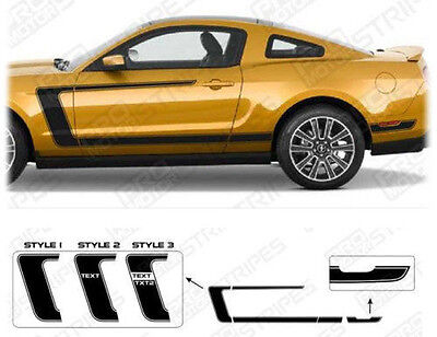 2007 Boss - Ford Mustang BOSS 302 Style Reverse C-Stripes Decals 2005 2006 2007 2008 2009