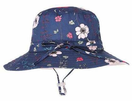 BRAND NEW Toshi Girl Sunhat Floral Willow Size Small