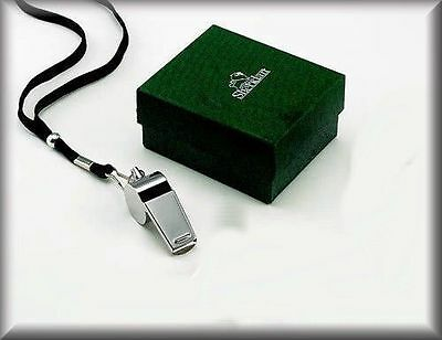 Personalized Coaches Whistle (PERSONALIZED COACH'S WHISTLE POLISHED SILVER KEYCHAIN NAME CUSTOM ENGRAVED)