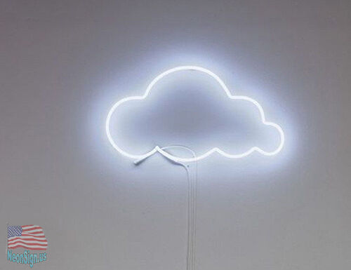 "Cloud Night Neon Art Sign 19""x 12"" From USA"