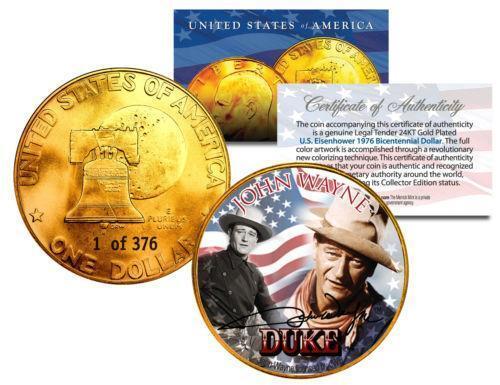 John Wayne Gold Coin Ebay