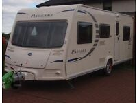 BAILEY PAGEANT SERIES 7 FIXED BED 4 BERTH