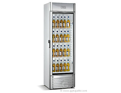 [GX352] Getränkekühlschrank 0,61x0,59m - mit 1 Glastür