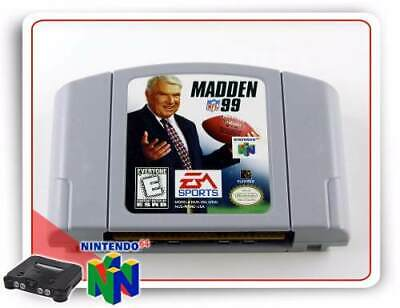 Madden NFL '99 (Nintendo 64) N64