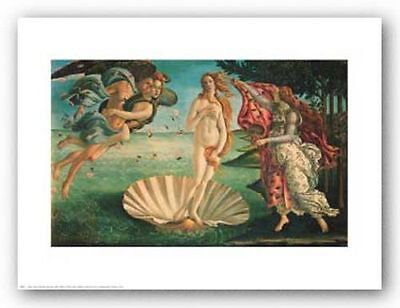 MODERN ART PRINT Birth of Venus by Sandro Botticelli 26x16