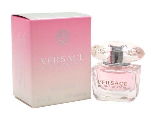 $9.91 - Versace Bright Crystal Women Mini Bottle 0.17 oz 5 ml Eau De Toilette Splash Nib