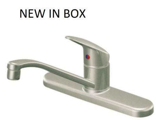 moen kitchen faucet stainless ebay