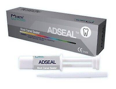 5 Boxes Adseal Root Canal Sealer 13.5 Gr Dual Syringe - Meta Dental