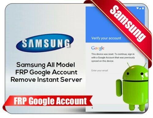 Remote F.R.P G M A L Remove Service For Samsung Only