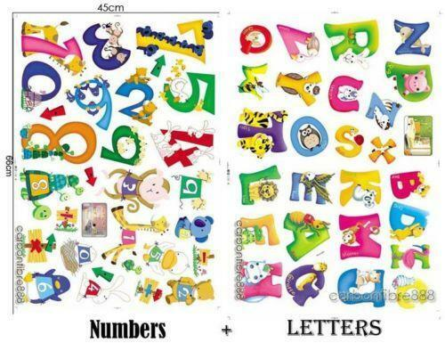 abc letters for wall alphabet wall letters ebay 16688