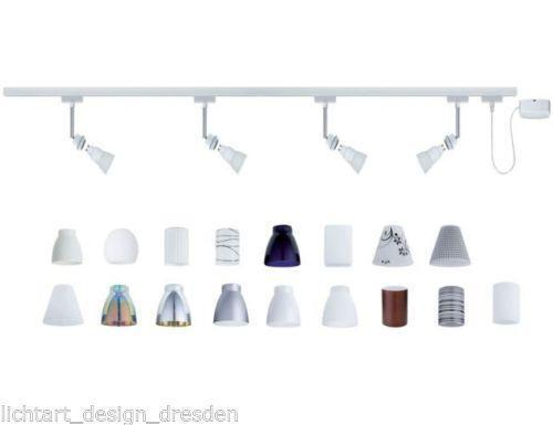 paulmann schienensystem beleuchtung ebay. Black Bedroom Furniture Sets. Home Design Ideas