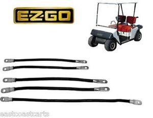 ezgo marathon 1986 1994 golf cart 2 gauge battery cable set. Black Bedroom Furniture Sets. Home Design Ideas