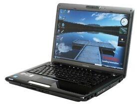 Toshiba Satellite A300 Laptop Core Duo 2.10 GHz 250GB HDD 3GB RAM Webcam DVD/RW