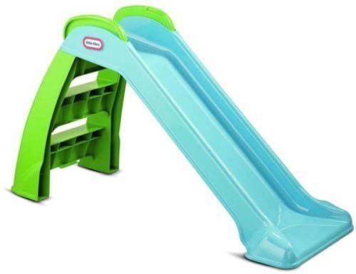 Little Tikes - Kinder Rutsche Basic Gartenrutsche Fist Slide Rosa oder Blau
