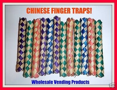 288 Chinese Bamboo Finger Traps Party Favors Arcade Fun Bird Toys