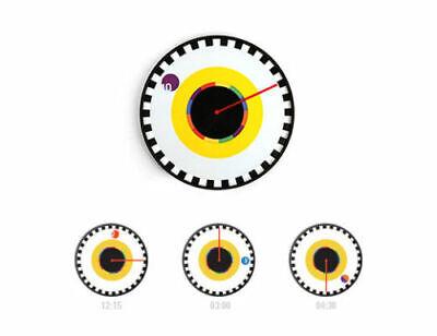 KIKKERLAND Sprocket Wall Clock 🌍 25cm 🌎 Battery Included 📮 UK Freepost