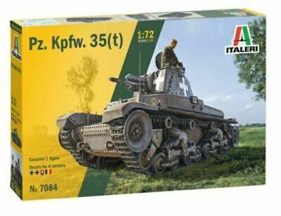 Italeri 7084 Panzer Ger. Panzerkampfwagen 35 (t) Model Kit Bausatz 1:72