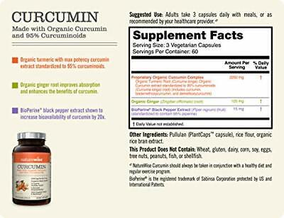 NatureWise Curcumin Turmeric 2250mg | Non-GMO