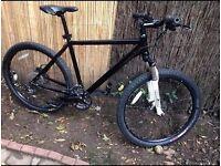Black Cross bike (DUAL DISK BREAKS)- 2016