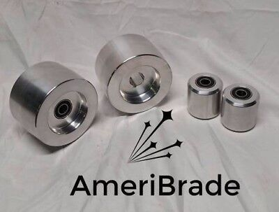 """2x72 Knife Maker Grinder Wheel Set 5/8"""" bore, Belt Grinder"""