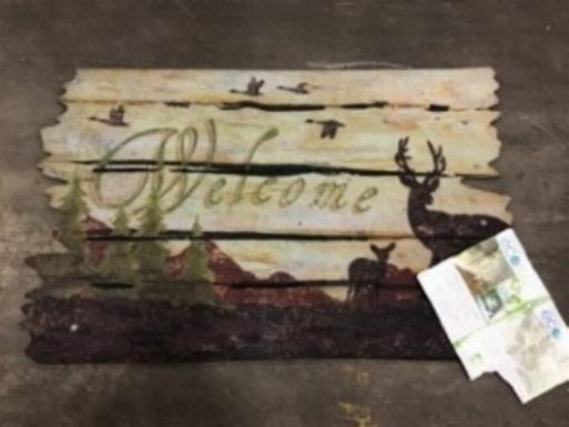 Apache Mills ECOMAT WELCOME MAT 18x30 rubber door entrance c