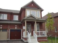 Three BR Semi Detached House for Rent in Wismer, Markham