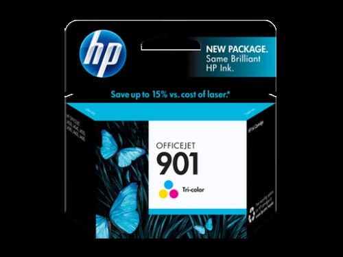 как выглядит Картридж для струйного принтера HP #901 CC656AN Color Ink Cartridge GENUINE NEW! фото