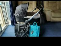 Oyster carry cot & pushchair