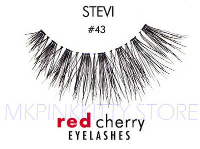 Red Cherry Lashes #43 False Eyelashes [LOT OF 3]* NEW*