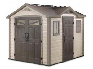 Keter 8x10 Vinyl shed for parts