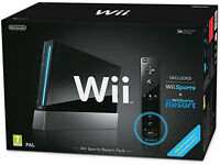 Nintendo Wii and Wii Fit Plus Balance Board - includes Wii Sports and Sports Resort