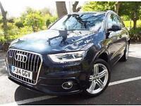 2014 Audi Q3 2.0 TDI Quattro S Line Plus 5 door Diesel Estate
