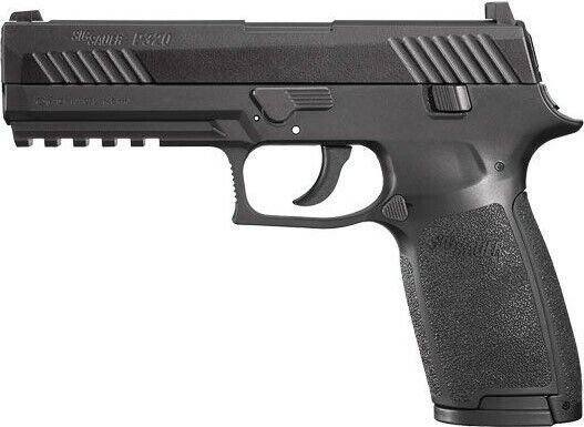 Sig Sauer P320 CO2 .177 Caliber Air Pistol w/ Metal Slide - AIR-P320-177-30R-BLK