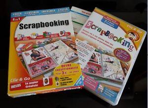 Logiciels pour scrapbooking & cartes