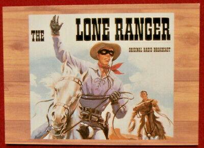 THE LONE RANGER - Card #49 - Dart 1997 - ORIGINAL RADIO BROADCASTS