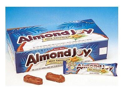 Peter Paul  ALMOND JOY Milk Chocolate Candy Bars FAST SHIP Almond Joy Candy Bars